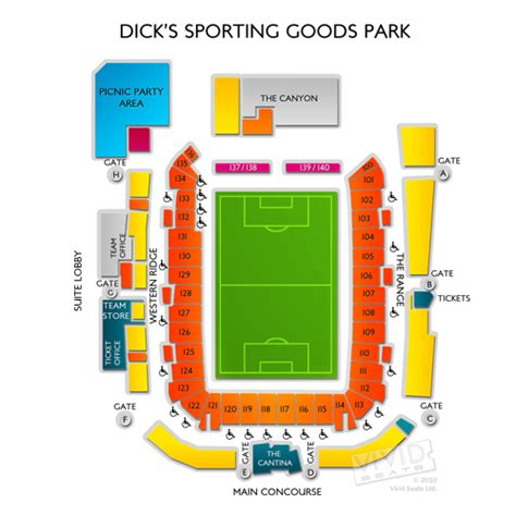sporting park seating sporting goods park seating chart seats