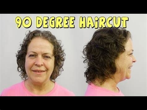 zero degree haircut coming down in a slight v shape vote no on 0 degree radial haircut how to cut hair