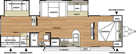 salem travel trailer floor plans salem travel trailer by forest river