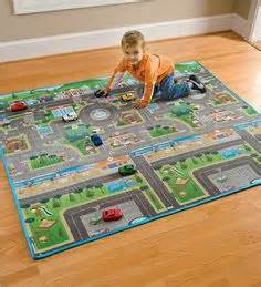 Mat Town Open by Car Play Mat Road Play Rug For Activities