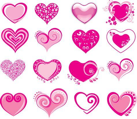 heart templates for photoshop free vector がらくた素材庫 バレンタインデー ハート テンプレート valentines day