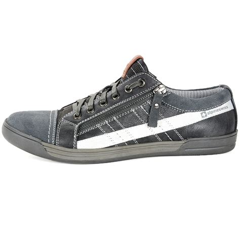 casual comfort shoes alpine swiss valon mens fashion sneakers low top dress or