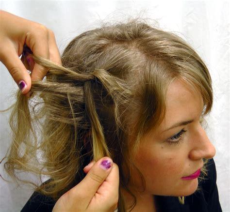 spiral curls waterfall braid cute girls hairstyles waterfall braid with spiral curls prom hairstyles cute