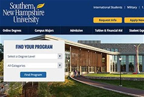 Snhu International Mba Reviews by Southern New Hshire Reviews Right Place To