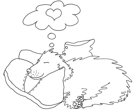 chubby puppies coloring pages puppy love cute adult coloring page by chubby art