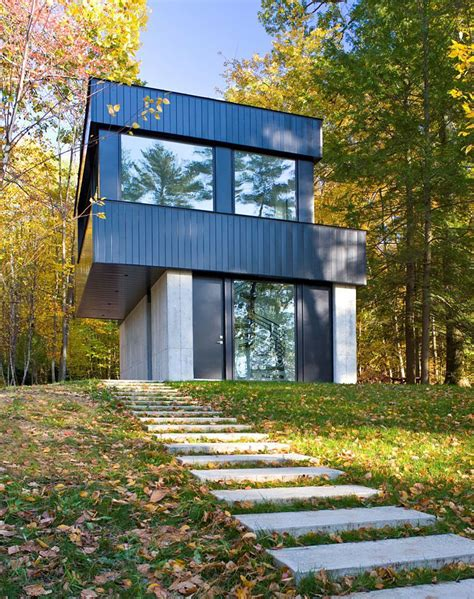 cantilever house cantilever lake house by brian mac homedsgn