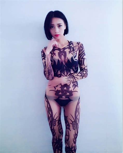 tattoo body suit costume online get cheap tattoo body suit costume aliexpress com