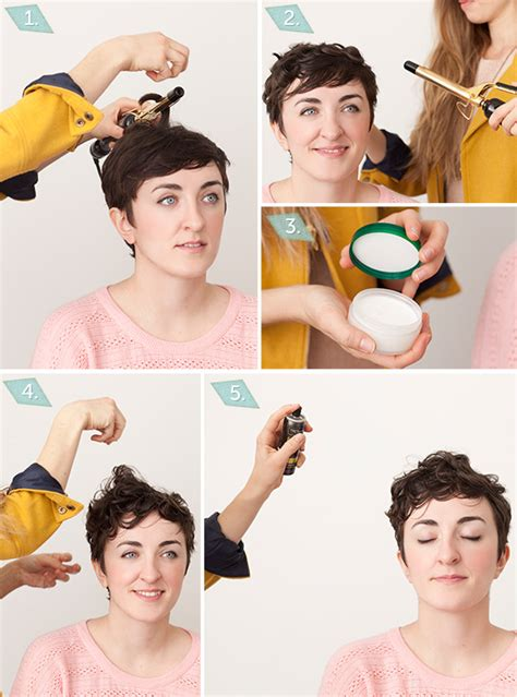 step by step for a pixie cut best tressed holiday hair with flair for the short haired