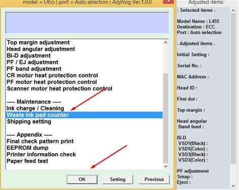 epson l455 resetter adjustment program resetter adjustment resetter program epson