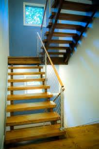 Open Staircase Open Riser Stairs Custom Stairs Artistic Stairs