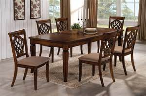 coaster dining room sets 103391 5pc dining set by coaster in oak w options