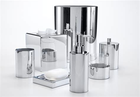 Brushed Chrome Bathroom Accessories Upscale Bath Accessories Chrome Bathroom Accessories Set Polished Chrome Bathroom Accessories