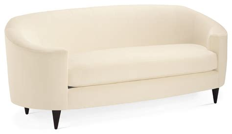 oval loveseat oval sofa contemporary sofas by baker furniture