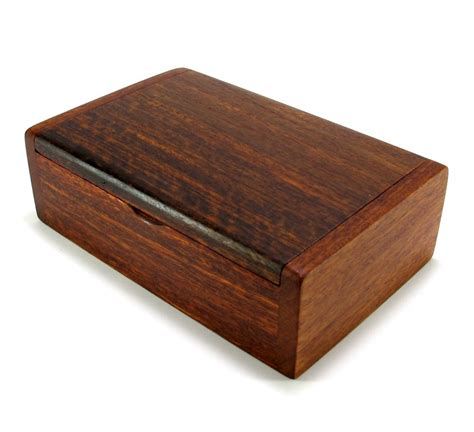 wooden box handmade trinket storage keepsake jewelry