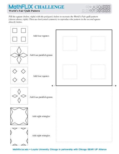 quilt math worksheets printable free worksheets 187 quilt pattern worksheets free math