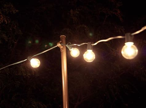 Best Way To Hang Outdoor String Lights Best 25 Light Posts Ideas On Pinterest