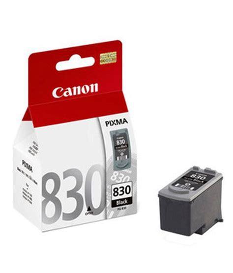 Dijamin Canon Cartridge 830 Black canon pg 830 black ink cartridge black buy canon pg 830 black ink cartridge black