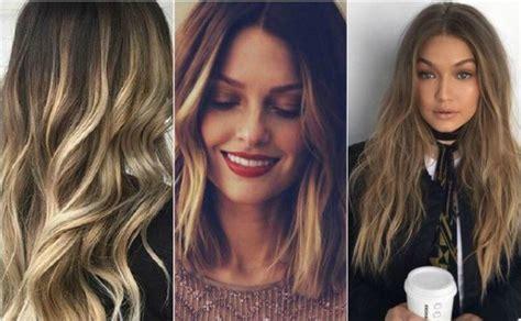 stilvolle vorschlaege fuer braune haare mit blonden straehnen