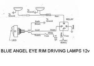 wiring diagram for spotlights to high beam wiring