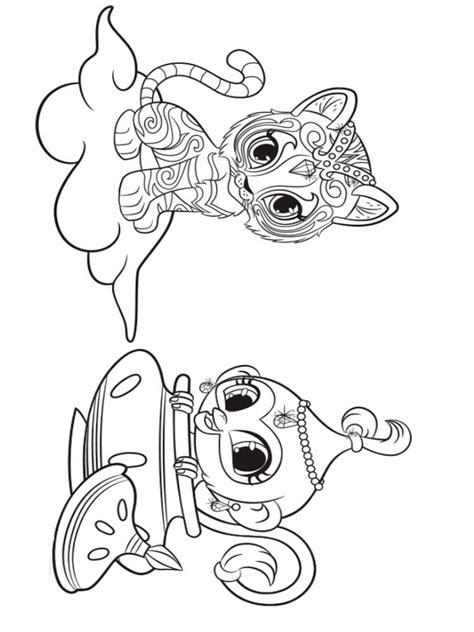 printable coloring pages shimmer and shine shimmer and shine coloring pages coloring pages