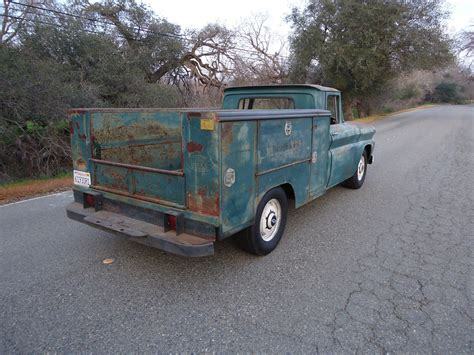 utility bed trucks california native 1961 chevy utility bed truck with