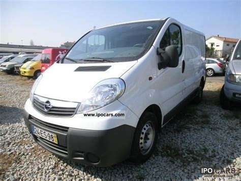 opel vivaro 2007 2007 opel vivaro 2 0 cdti air car photo and specs