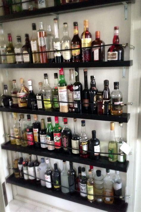 What Is The Shelf Of Bottled by Shelving For Liquor Bottles Or How I Got Problem The Drunken Botanist