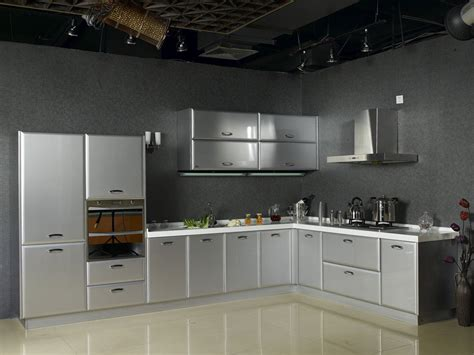 15 contemporary kitchen designs with stainless steel vintage stainless steel kitchen cabinet greenvirals style