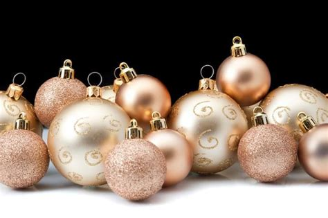 rose gold christmas lights gold rose gold christmas ornaments pine cone christmas