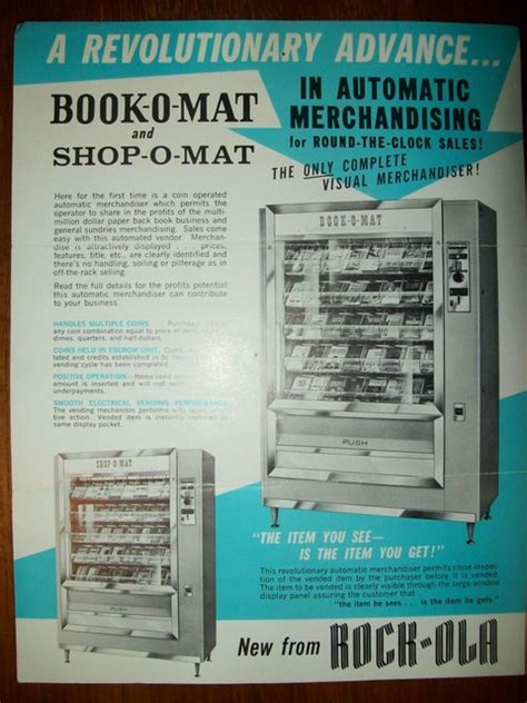 Mat Books by A Brief History Of Book Vending Machines Huffpost