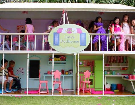 doll house for 2 year old life size dollhouse for 6 year old s birthday party