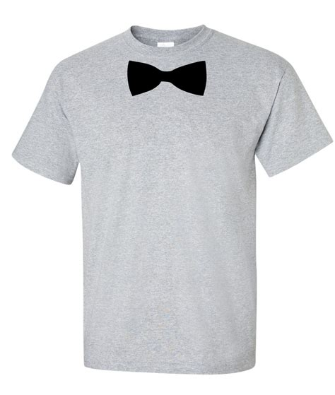 bow tie logo graphic t shirt supergraphictees