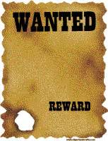 wanted poster template free printable search results for free printable western wanted sign