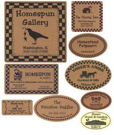 printable kraft labels benson marketing group custom labels and tags totes bags