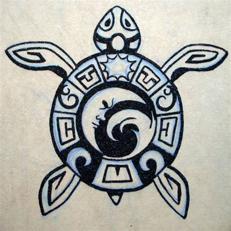 tattoo animal symbolism glitter side aztec turtle things i love pinterest