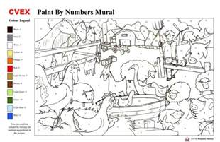 painting by numbers free coloring pages of paint by number adults