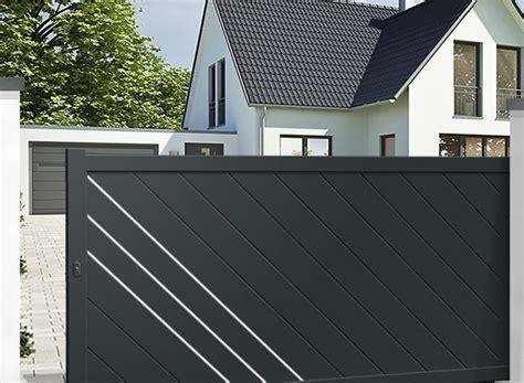 Installer Un Portail Coulissant 3830 by Comment Installer Un Portail Electrique Coulissant Le