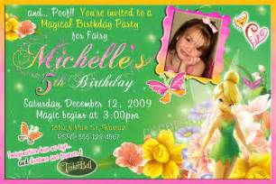 tinker bell birthday party invitatiion ideas bagvania