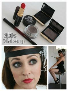 simple makeover for great gatsby 1920 s hair and makeup flapper girl beauty pinterest