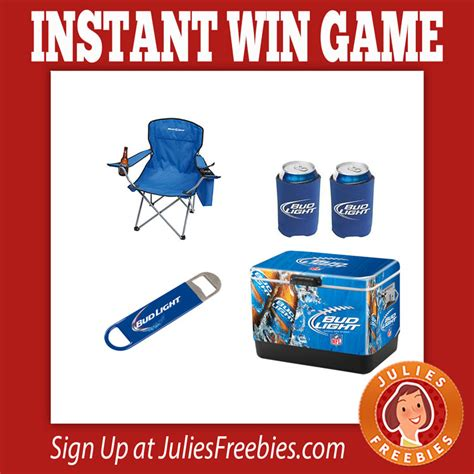 Instant Win Games - bud light instant win game 28 000 winners julie s freebies