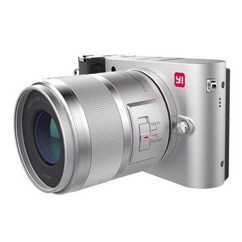 xiaomi yi m1 mirrorless digital prime lens version silver specifications