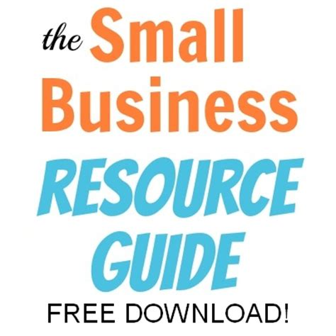Small Home Business Guide Small Business Resource Guide