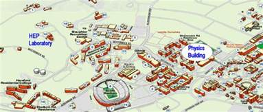 University Of Virginia Map by Directions The The Uva Hep Lab