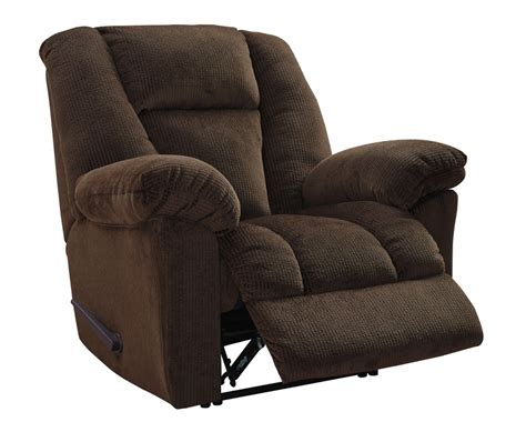 discount recliner nimmons chocolate zero wall recliner 3630429