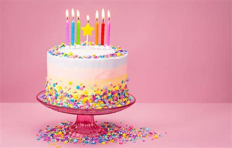 flavored  birthday cake