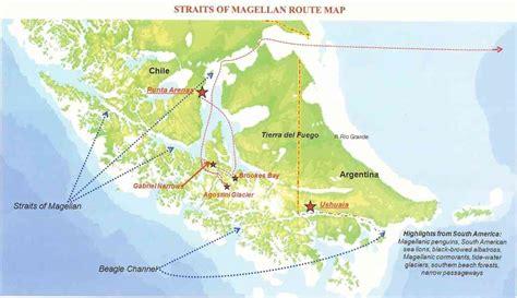 strait of map map strait of magellan map travel