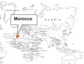 Morocco World Map by Morocco Location On World Map Images