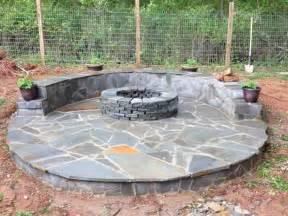 build pit on patio diy veneer pit patio