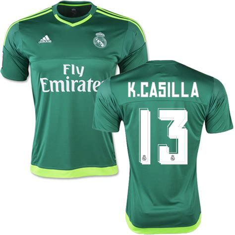 Real Madrid 3rd 1516 Ls womens real madrid 13 kiko casilla home sleeves 2016