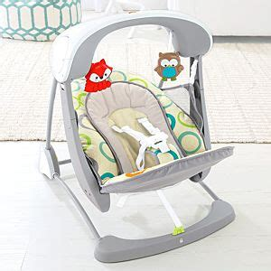 fisher price deluxe take along swing recall comfort curve bouncer ringlet wave